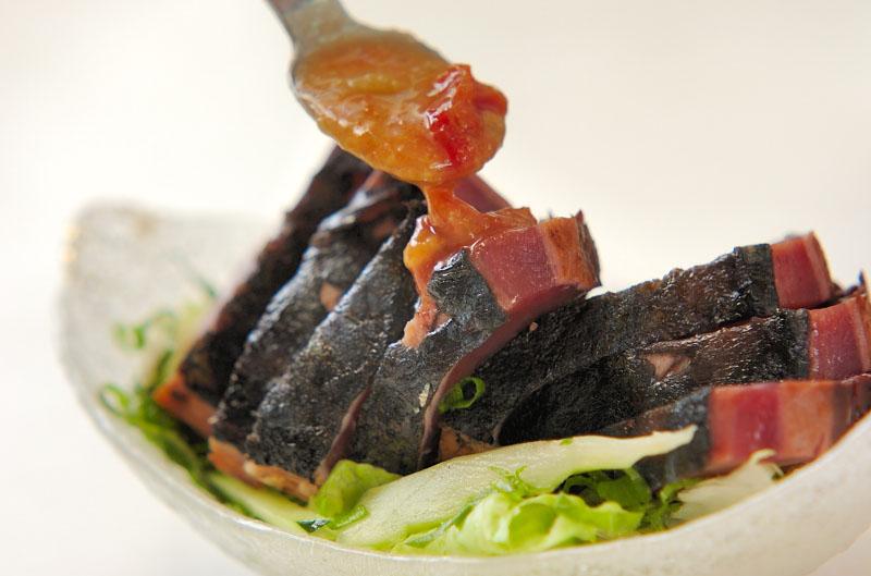 カツオのたたき・梅肉みそダレの作り方の手順7
