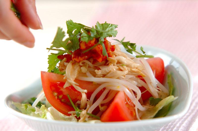 キムチのサラダの作り方の手順8