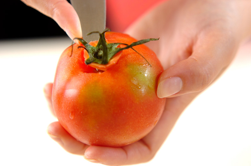 キムチのサラダの作り方の手順1