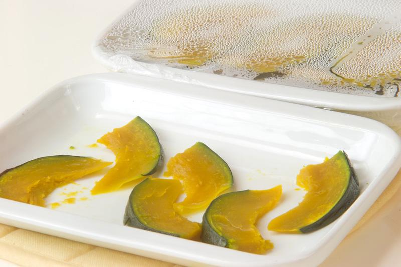 パンプキンはさみ揚げの作り方1