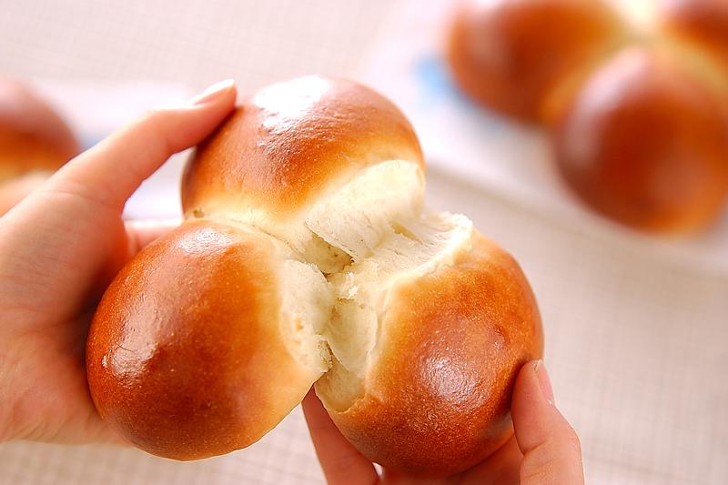 三色パンの作り方の手順