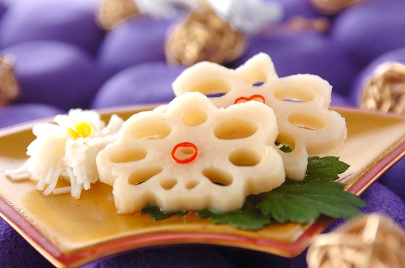 酢レンコン・菊花カブの作り方の手順