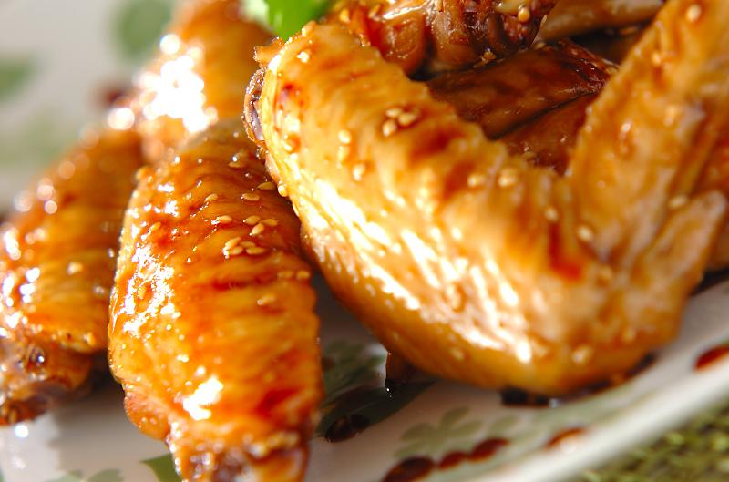 鶏のリンゴ酢煮