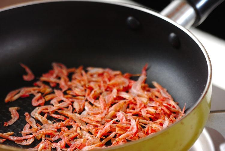 モヤシと桜エビの酢の物の作り方の手順6