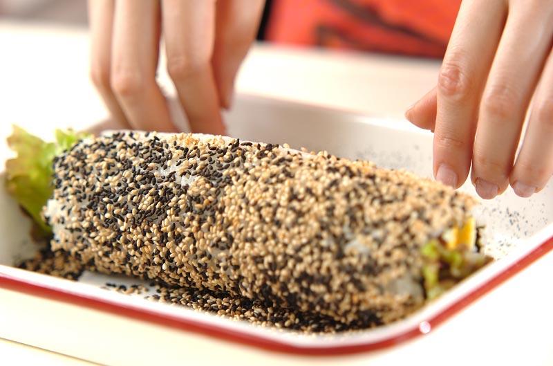 ウインナーのサラダ巻きの作り方の手順10