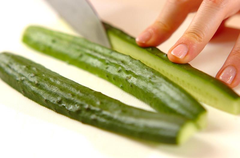 ウインナーのサラダ巻きの作り方の手順3