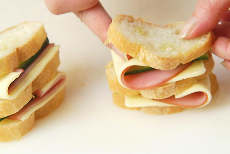 串揚げサンドイッチの作り方の手順2