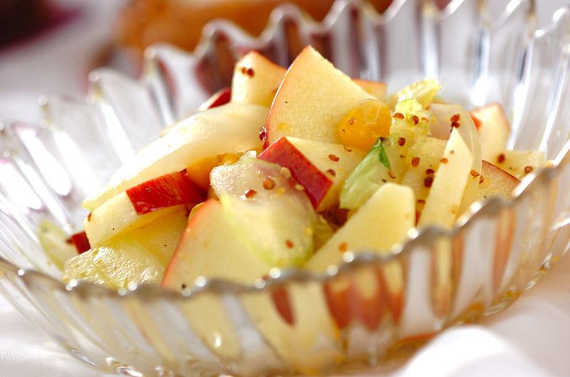 リンゴのサラダの作り方の手順