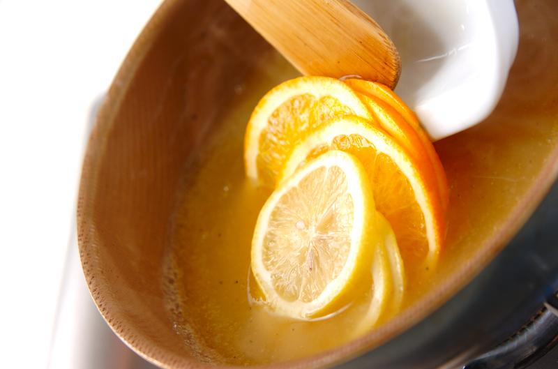 鶏肉のオレンジソースの作り方の手順12