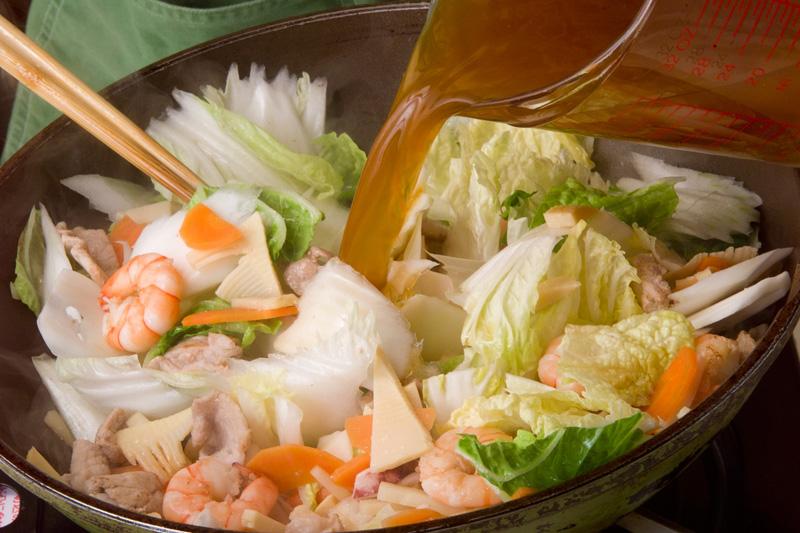 具だくさんの八宝菜の作り方の手順13