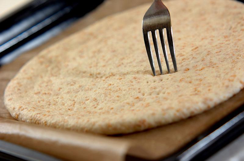 3種のキノコとクルミのピザの作り方の手順7
