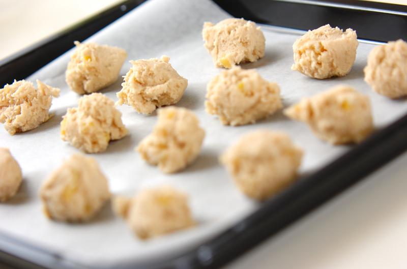 おさつのソフトクッキーの作り方の手順4