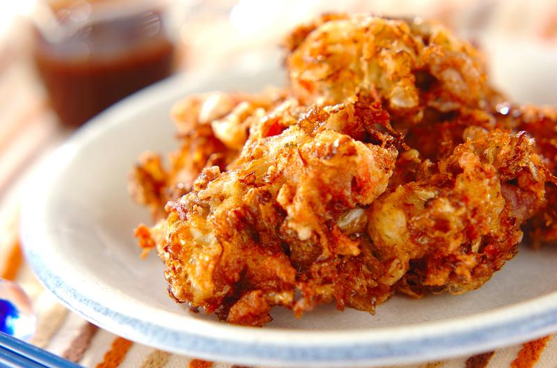 カリカリお好み焼きの作り方の手順