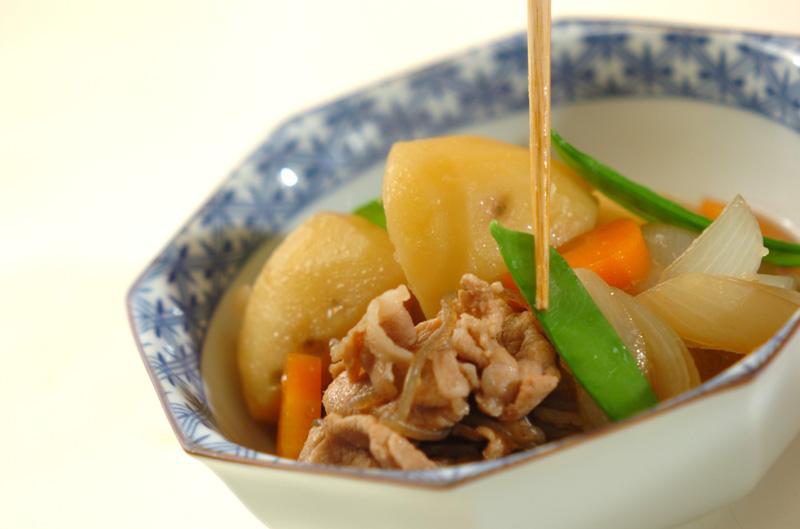 豚肉で肉ジャガの作り方の手順10