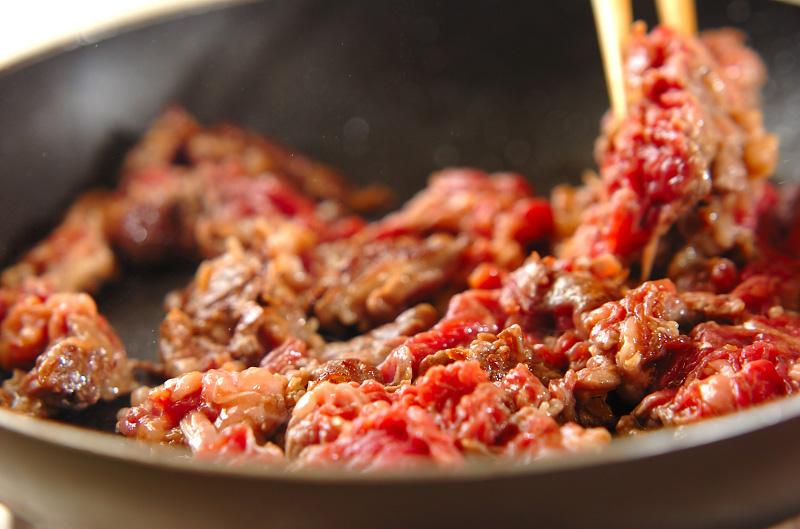 牛肉のセサミソテーの作り方の手順3