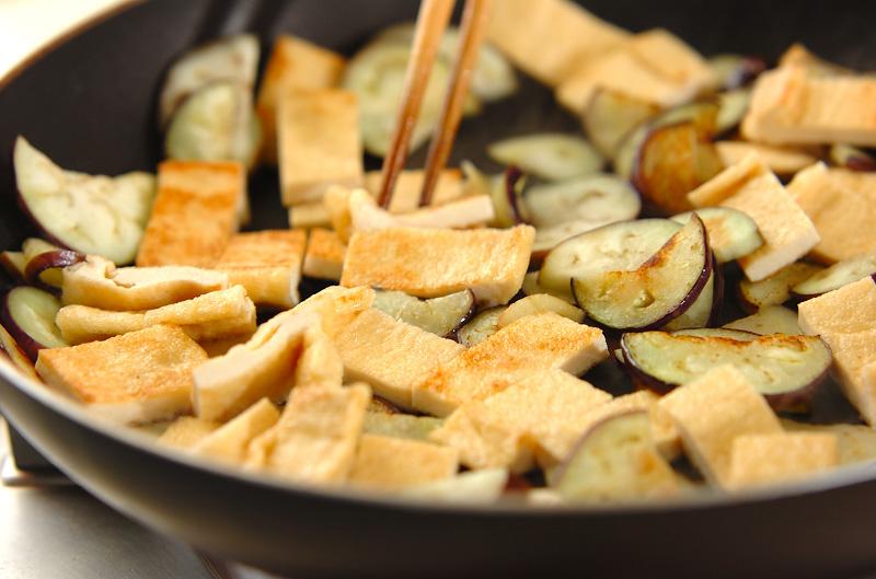 油揚げのコチュジャン炒めの作り方の手順4