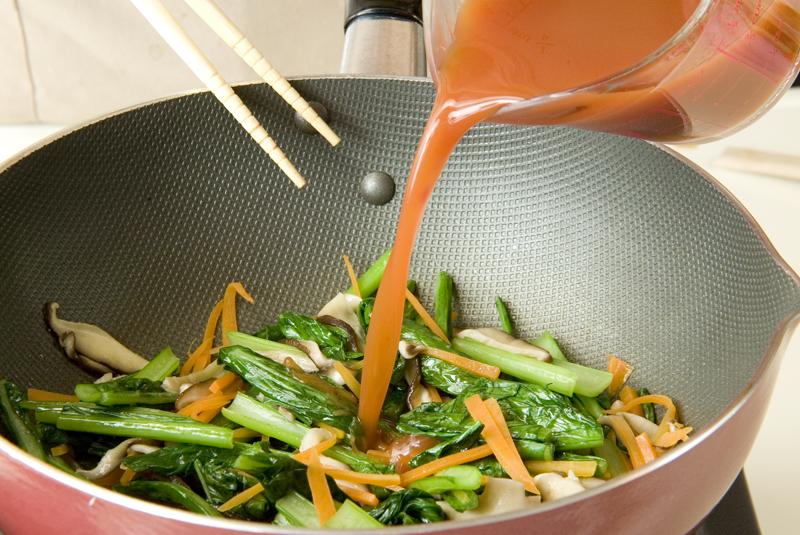 焼き厚揚げの甘酢あんの作り方3