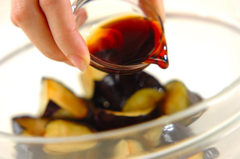 揚げナスのゴマ酢がけの作り方の手順5