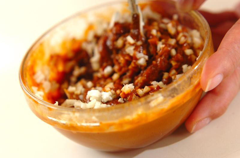 鶏鍋~ゴマ鍋~担々麺風そばの作り方3