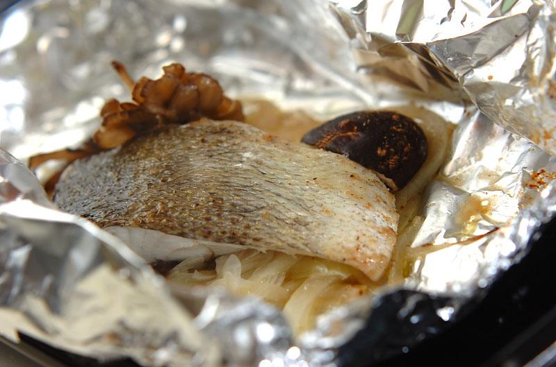 スズキのバターホイル焼きの作り方の手順8