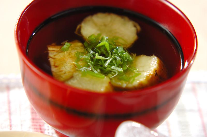 焼きナスのすまし汁の作り方の手順