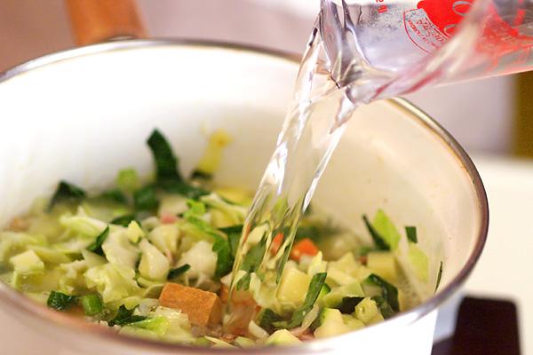 たっぷりサラダプレートの作り方の手順5