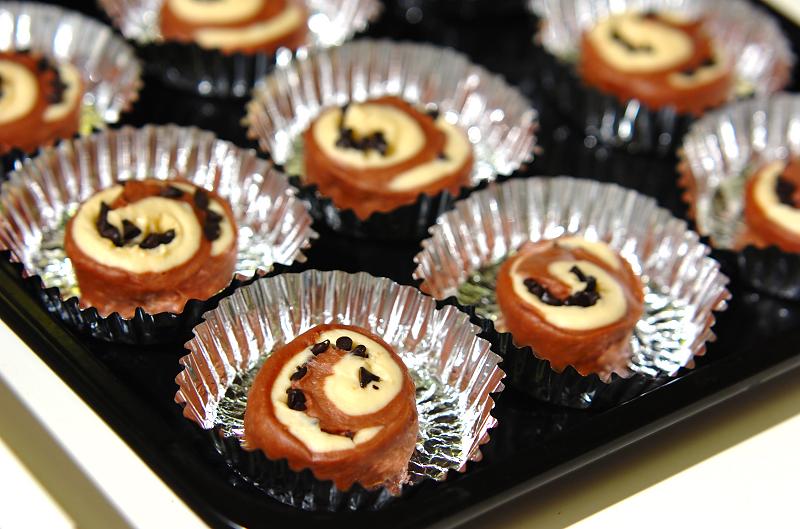 チョコロールの作り方の手順25