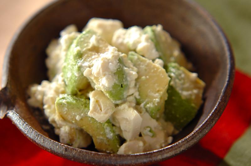 アボカド豆腐サラダの作り方の手順