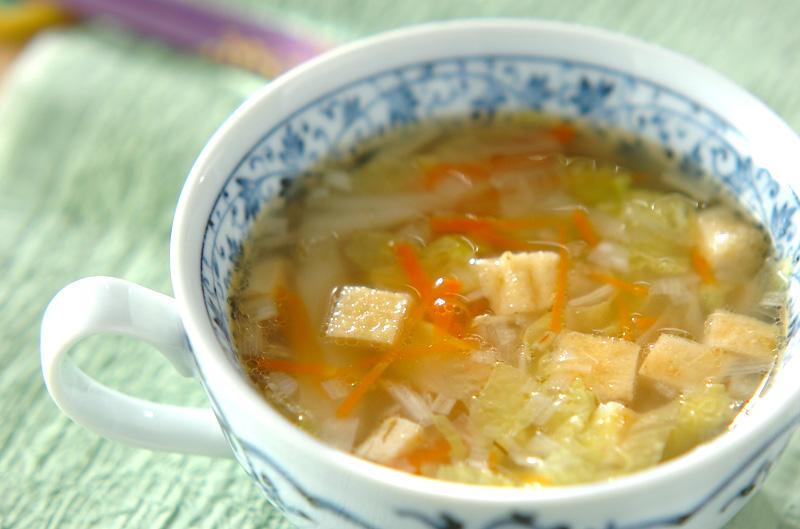 スープ 白菜 中華