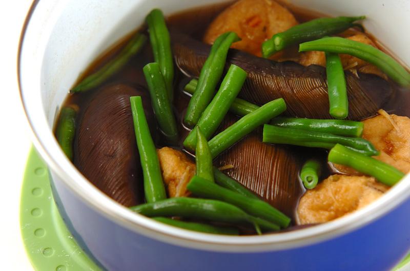 ナスとひりょうずの煮物の作り方2