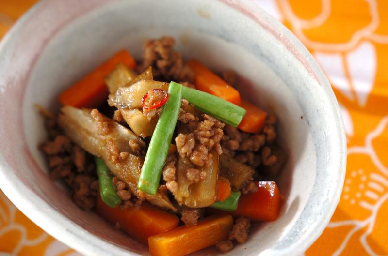たたきゴボウの甘辛炒め煮