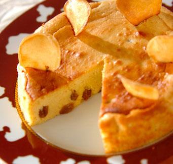 ラムポテトチーズケーキの作り方の手順