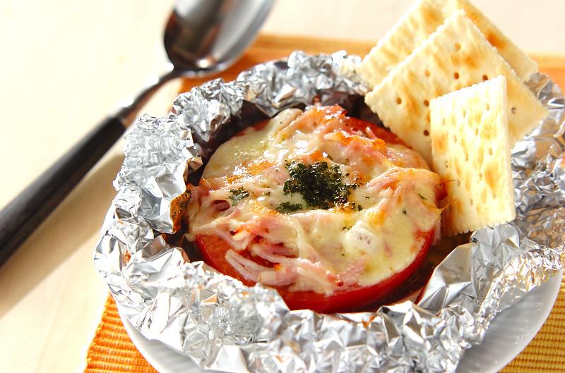 トマトのホイル焼き【E・レシピ】料理のプロが作る簡単レシピ/2010.08.30公開のレシピです。