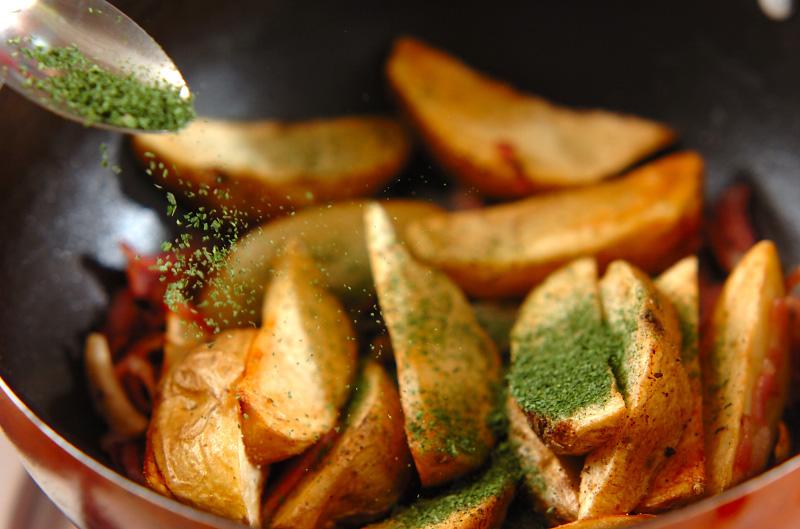 ジャガイモのガーリックソテーの作り方の手順5