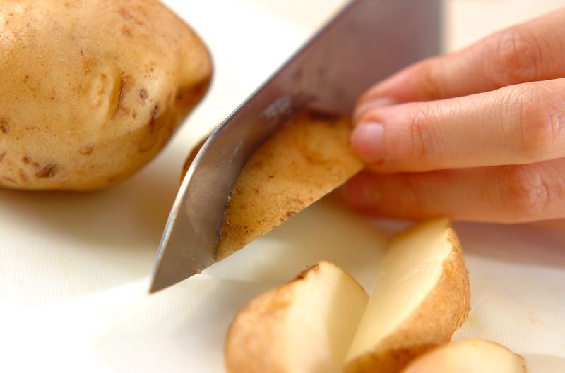ジャガイモのガーリックソテーの作り方の手順1