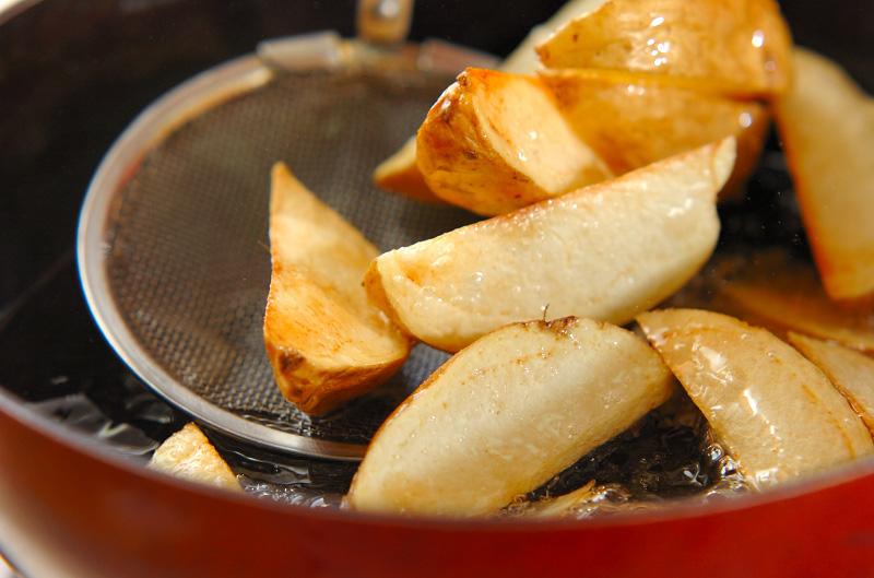 ジャガイモのガーリックソテーの作り方の手順3