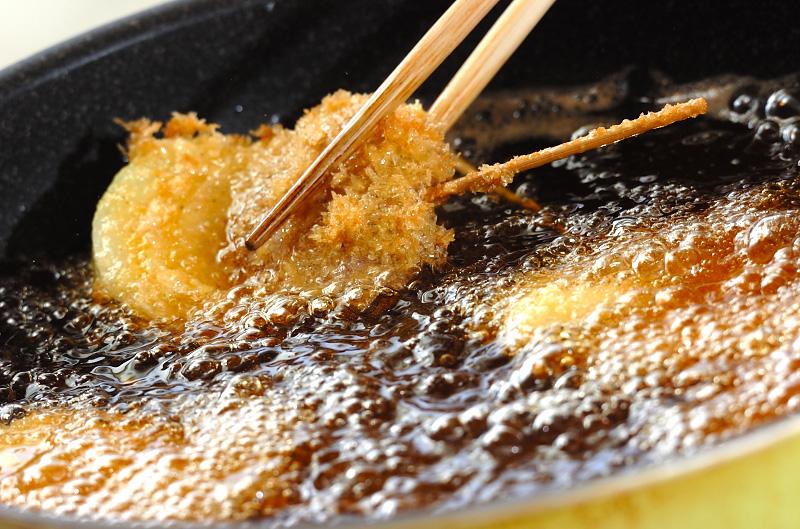 豚ヒレ肉の串カツの作り方の手順5