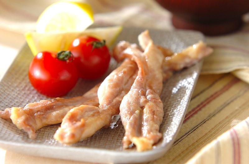 鶏肉の塩焼きの作り方の手順