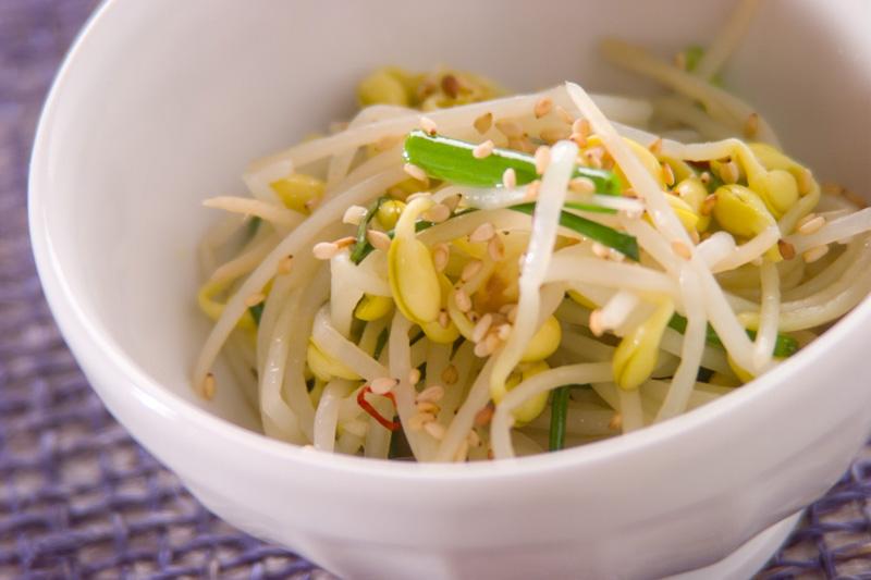 豆モヤシのナムル風の作り方の手順
