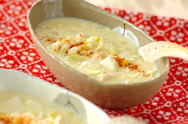 カニ入りコーンスープ