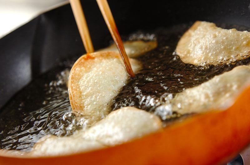 納豆の包み揚げの作り方の手順6