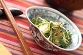 長芋のワサビじょうゆ