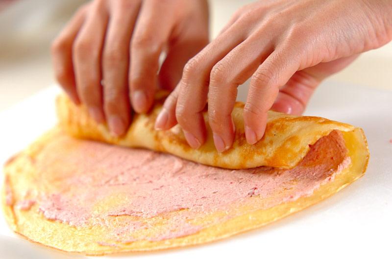 ひとくちロールケーキの作り方の手順7