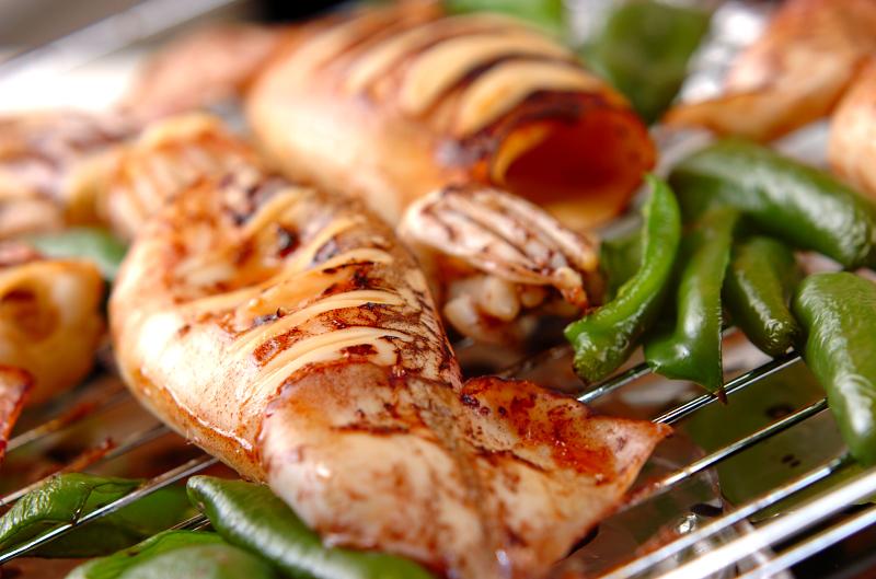 イカのつけ焼きの作り方1