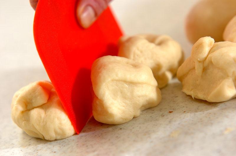 ソフトプチ塩パンの作り方3
