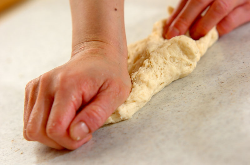 ソフトプチ塩パンの作り方2