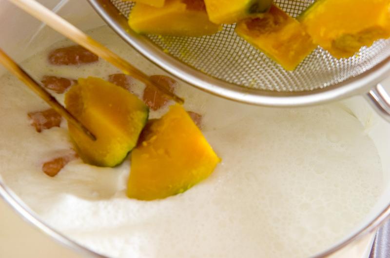 カボチャのクリーム煮の作り方の手順3