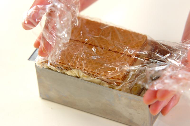 ウエハースアイスケーキの作り方の手順3