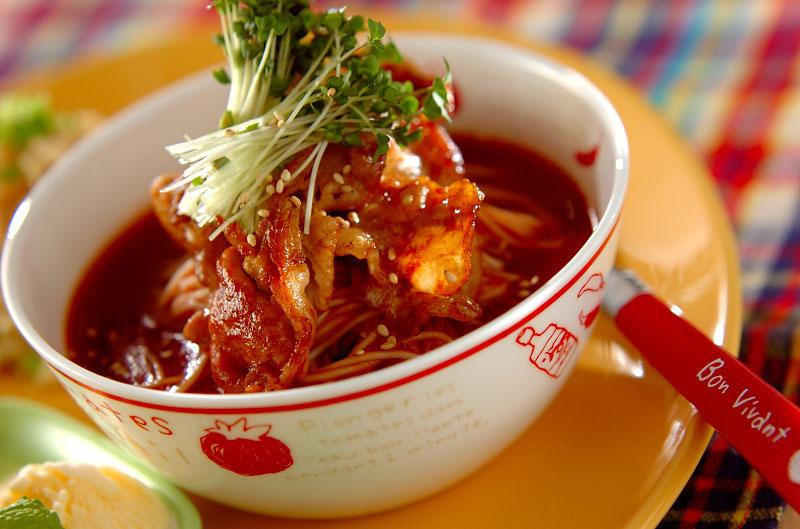 スタミナトマト素麺