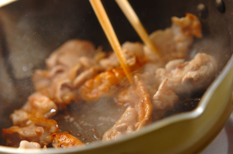 スタミナトマト素麺の作り方の手順2